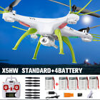 Syma X5HW 2.4Ghz 4CH RC Hover Drone with Full HD Camera WIFI FPV Real Time RTF