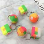 Children DIY assembly ball toy cube funny jigsaw puzzle keychain pendants  cheap