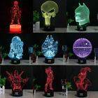 Star Wars 3D LED Lamp Acrylic Night Light USB Touch Lamp Table Xmas Gift 7 Color $17.09 USD on eBay