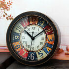Alarm Clock Retro Style Faux Wood Clock Digital Clock Vintage Quartz Clock Z078