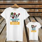 Every Superhero Needs A Sidekick Matching Father's Day Dad And Son Cute T-Shirts