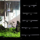 Aquarium Acrylic/Glass Shrimp Feeding Tube Food Feeder Pipe Holder + Suction Cup