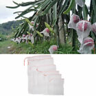 10pcs Garden Plant Fruit Protect Drawstring Net Bag Mesh Insect Pest Control