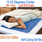 Cooling Gel Cool Pad Mat Orthopedic Mattress Topper Pet Multi size Muscle Relief