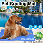 Summer Cool Mat Self Cooling Gel Pad Pet Dog Puppy Heat Bed Relief Non-toxic NEW