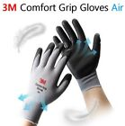1 2 3 5 10pairs 3M Comfort Grip Air Nitrile Coated Summer Safety Work Glove