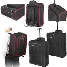 """Mens 21"""" Cabin Size Airline Wheel Trolley Backpack Hand Luggage Carry On Bag"""
