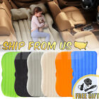Inflatable Travel Car Air Bed Camping Mattress Back Seat Sleep Rest Pillow/Pump