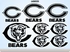 CHICAGO BEARS Stickers Decals American Football Team Sports Super Bowl 70K on eBay