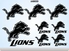 DETROIT LIONS Stickers Decals American Football Team Sports Super Bowl 70Q on eBay