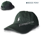 New Adjustable Polo Men Classic Embroidered Pony Cotton Sport Baseball Cap Hat