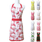 Simply Whimsical Retro Apron Adult Cotton Novelty Tropical Bird Cake Fruit