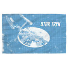 Star Trek Original Series USS ENTERPRISE BLUEPRINT Lightweight Beach Towel on eBay