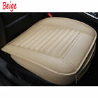 1x3D Luxury Breathable Full Seat PU Non Slide Car Seat Cover Cushions Surround