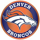 Denver Broncos Circle Logo Vinyl Decal / Sticker 5 sizes!!