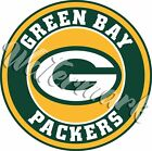 Green Bay Packers Circle Logo Vinyl Decal / Sticker 5 sizes!!