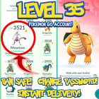 POKEMON-GO ACCOUNTS LEVEL 35/28/27 | BAN SAFE | LOTS OF STOCK | INSTANT DELIVERY