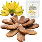 Organic Fruit Snack Healthy Thai Chewy Sun Dried Banana From Thailand 4.2 oz.