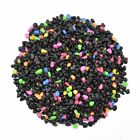 Aquarium Gravel Black & Flourescent Mix for Plant Aquariums Fish Tank 0.25-0.35""