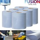 Centrefeed Tissue Roll Paper Hand Towel Gym Commercial Industrial Blue <br/> HIGH QUALITY EMBOSSED CENTREFEED TISSUE + GREAT VALUE