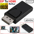 DISPLAY PORT DP TO HDMI MALE CABLE FOR PC LAPTOP AV CABLE ADAPTOR
