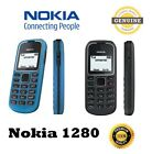 Brand New Nokia 1280 (unlocked) Simple Basic Classic Mobile Phone Black/blue/red