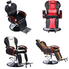 Barber Chair Adjustable Hydraulic Recline Salon Beauty Spa Equipment PVC Leather