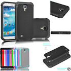 samsung galaxy 4 cover - For Samsung Galaxy S IV S4 i9500 Shockproof Hybrid Rubber Rugged Hard Case Cover