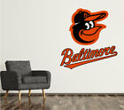 Baltimore Orioles Wall Decal Logo Baseball MLB Custom Decor Sticker Vinyl SR16 on Ebay