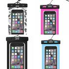 """Universal Waterproof Case SmartPhone Dry Bag Pouch up to 6.0"""" Swimming Cases"""