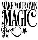 make your own magic stars vinyl decal