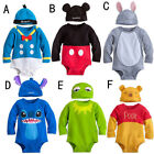Baby Boys Girls Disney Animal Costume Playsuit Outfit Romper