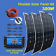 12V 300W 300Watt Solar Panel Kit Flexible Off-Grid System w/LCD Solar Controller