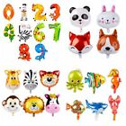 Super Jungle Animal Zoo Foil Balloons Kids Birthday Party Supply Baby Shower Fun