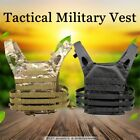 Tactical Military Airsoft Paintball Wargame Plate Carrier Combat Vest 600D Nylon