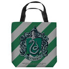 HARRY POTTER SLYTHERIN CREST LICENSED LIGHTWEIGHT TOTE BAG 2 SIDED PRINT