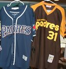 TONY GWYNN DAVE WINFIELD JERSEY THROWBACK PULLOVER SAN DIEGO PADRES