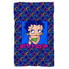 Betty Boop Cartoon Comic POP ART BETTY Lightweight Polar Fleece Throw Blanket $28.91 USD on eBay