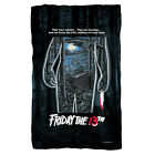 Friday the 13th Movie POSTER Jason, Save Them Lightweight Polar Fleece Blanket image