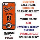 Baltimore Orioles ORG Design Baseball Phone Case Customized for Samsung s9 etc.
