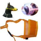 Pet Dog Puppy Muzzle Stop Chewing Mouth Cover Mask Safety Adjustable Breathable