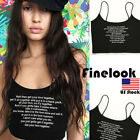 Finelook Women Summer Vest Top Sleeveless Shirt Blouse Casual Tank Tops T-Shirt