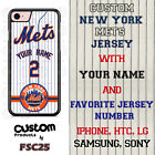 New York Mets Baseball Phone Case Customized for Samsung s9 s8 Note 8 etc.