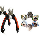 2Pc Pet Dog Cat Nail Toe Claw Clipper Trimmer Scissors Nail Grooming Cutter Tool