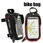 Bicycle Cycle Sports Bike Frame Bag Front Tube Waterproof Holder for Cell Phone