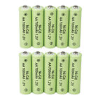 Lot 1.2v AA Rechargeable Batteries NiCd Battery for Garden Solar Ni-Cd Light LED