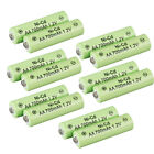 Lot 100x AA 14500 Rechargeable Battery 700mAh 1.2v for Garden Solar Ni-Cd Light
