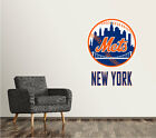 New York Mets Wall Decal Logo Baseball MLB Art Sticker Vinyl LARGE SR68 on Ebay