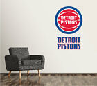 Detroit Pistons Wall Decal Logo Basketball NBA Art Sticker Vinyl LARGE SR127 on eBay