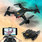 Global Drone WiFi FPV 1080P HD 2MP Camera GPS Foldable Quadcopter Helicopter US